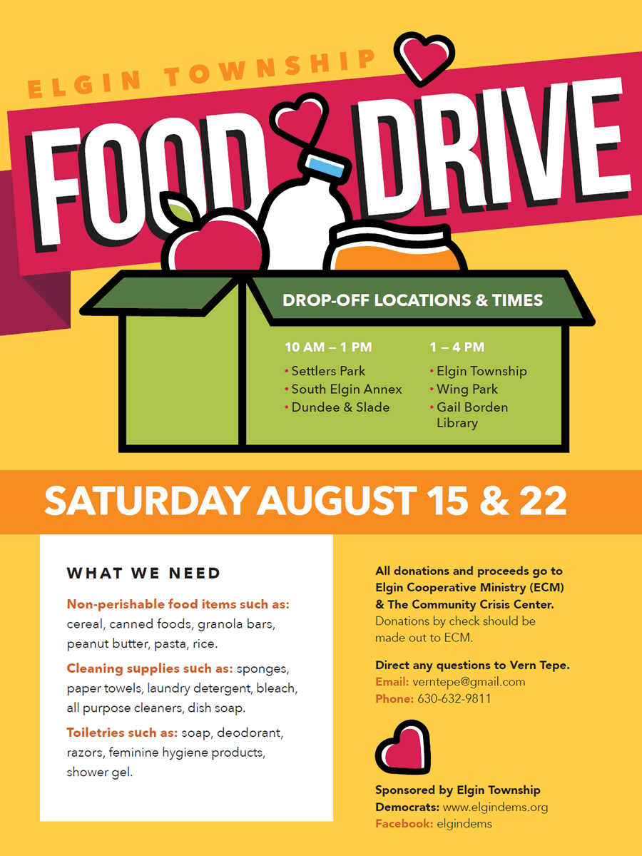 Elgin Township Food Drive