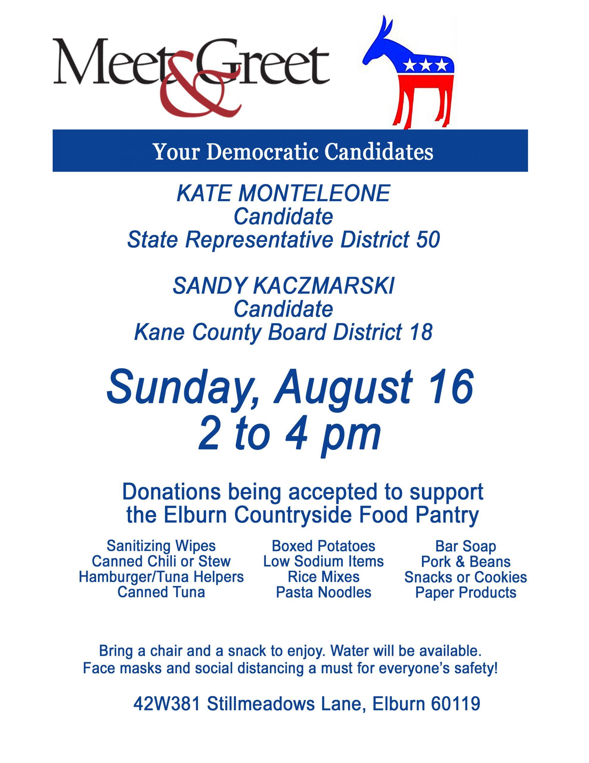 Meet & Greet Kate Monteleone and Sandy Kaczmarski @ Private Residence