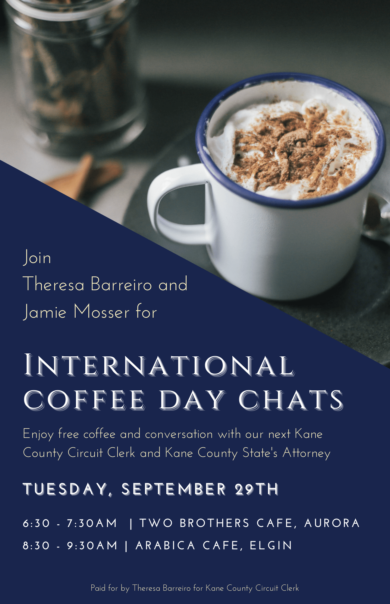 International Coffee Day Chat with Barreiro & Mosser