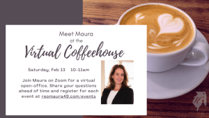 Virtual Coffeehouse with Rep. Hirschauer @ Online