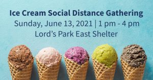 Elgin Township Democrats Ice Cream Social (Distancing) @ Lord's Park East Shelter, Elgin, IL