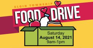 Elgin Township Democrats Food Drive 2021