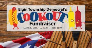 Elgin Township Dems Cookout Fundraiser @ Strathmann's Backyard