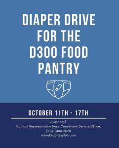 D300 Food Pantry Diaper Drive