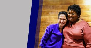 Virtual Reception for Susana with Stacey Abrams on Oct 21, 2021